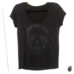 Zadig & Voltaire Tops - Zadig and Voltaire Skull T-shirt